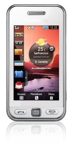 Samsung S5230 Star Smartphone (Touchscreen, 3MP Kamera, Video,