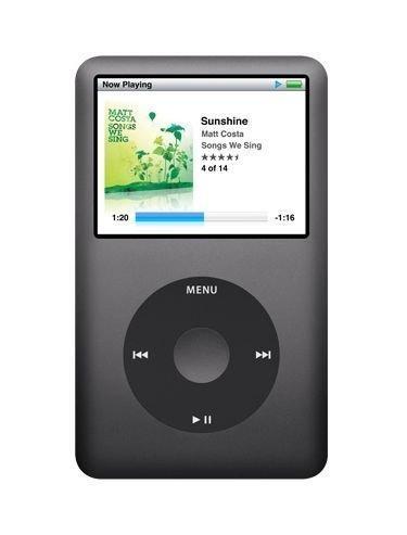 Apple iPod Classic MP3-Player 120 GB schwarz