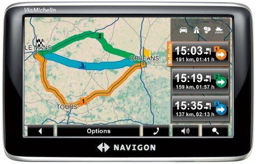 NAVIGON 4350max Navigationssystem (10,9 cm (4,3) Display,