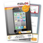 FoliX FX-Antireflex Displayschutzfolie für Apple iPhone 4 /