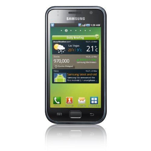 Samsung Galaxy S I9000 Smartphone (HD Video, 1 GHz-Prozessor,