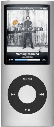 Apple iPod Nano MP3-Player 8 GB silber