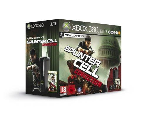 Xbox 360 - Konsole Elite Black + Splinter Cell: Conviction