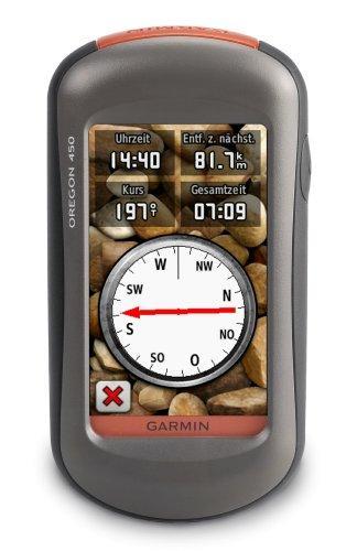 Garmin GPS Handgerät Oregon 450, 5,8 x 11,4 x 3,5 cm