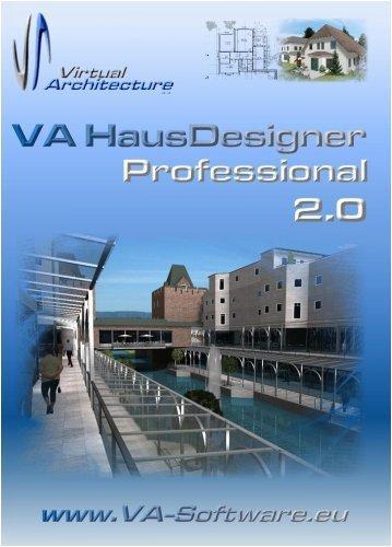 VA HausDesigner Professional 2.0 (2009) 3D CAD Hausplaner