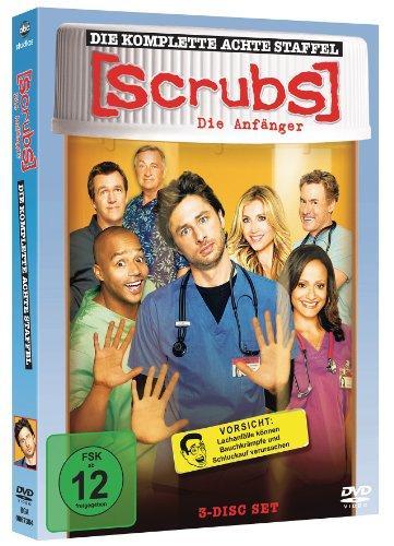 Scrubs: Die Anfänger - Die komplette achte Staffel (3 Discs)