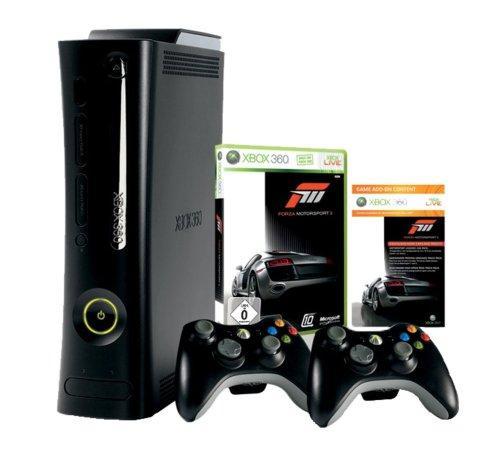 Xbox 360 - Konsole Super Elite mit 250 GB Festplatte & 2