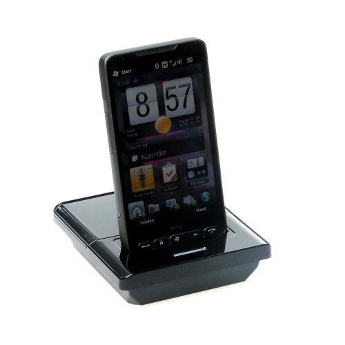 Dockingstation für HTC HD2 mit zusätzlichem Ladefach für 2.