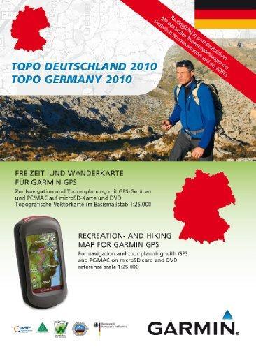 Garmin Topo Deutschland 2010 Gesamt - Freizeit- und Wanderkarte