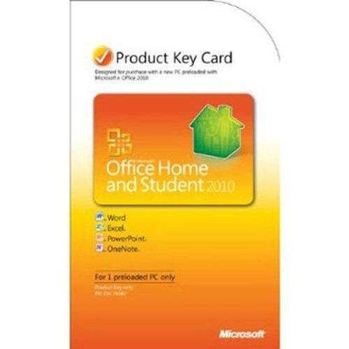 Microsoft Office Home and Student 2010 (Lizenz - Key)