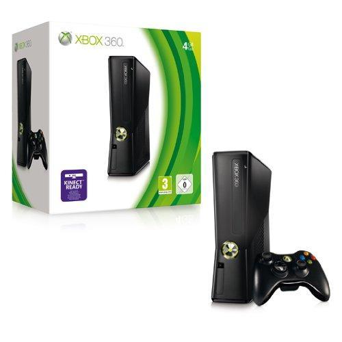 Xbox 360 - Konsole Slim Black 4GB