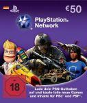 PlayStation Network Card (50 Euro) – Deutschland