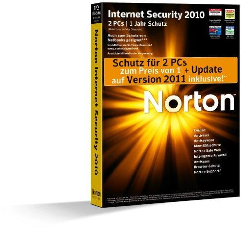 Norton Internet Security 2010 - 2 PC - deutsch