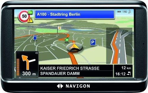 Navigon 40 Plus Navigationssystem inkl. TMC (10,9 cm (4,3)