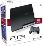 PlayStation 3 – Konsole Slim 160 GB inkl. Dual Shock 3 Wireless
